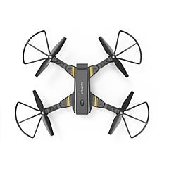billige Fjernstyrte quadcoptere og multirotorer-RC Drone TKKJ TK116W 4 Kanaler 6 Akse 2.4G Med 2,0 M HD-kamera Fjernstyrt quadkopter FPV En Tast For Retur Hodeløs Modus Flyvning Med 360