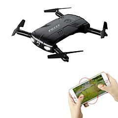 RC Drone FQ777 FQ777-05 4 Kanal 6 Akse WIFI Med 0.3MP HD-kamera Fjernstyrt quadkopter Mini LED-belysning En Tast For Retur Hodeløs Modus
