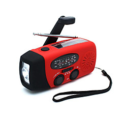 HY-088WB FM AM Taşınabilir radyo Güneş Enerjisi El Feneri Siyah Turuncu Kırmzı Yeşil Mavi