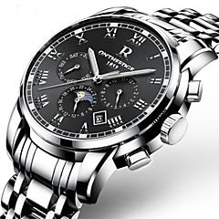 Erkek Çocukların Saat Kutuları Saat Açacakları Benzersiz Yaratıcı İzle Gündelik Saatler Moda Saat Elbise Saat İskelet Saat Asker Saat