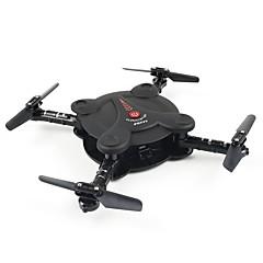 billige Fjernstyrte quadcoptere og multirotorer-RC Drone FQ777 FQ777-17W 4 Kanal 6 Akse WIFI Med HD-kamera 0.3MP Fjernstyrt quadkopter Mini LED Lys En Tast For Retur Hodeløs Modus