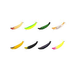 billiga Fiskbeten och flugor-1 st Hårt bete pvc Sjöfiske Kastfiske Spinnfiske Jiggfiske Färskvatten Fiske Generellt fiske Drag-fiske Abborr-fiske Karpfiske