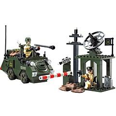 billiga Leksaker och spel-ENLIGHTEN Byggklossar 187pcs Klassisk / Warrior Människor / Militär / Stridsvagn Ogiftig Stridsvagn Pojkar Present
