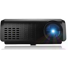 tanie Projektory-E07 LCD Mały projektor 100 lm Wsparcie 1080p (1920x1080) 15-80 cal Ekran