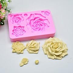 billige Bakeredskap-Bakeware verktøy Silikon Gummi silica Gel Silikon Non-Stick baking Tool 3D Til Småkake Sjokolade For kjøkkenutstyr Cake Moulds 1pc