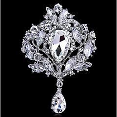 Dame Nåler Rhinstein Bohemsk Grunnleggende Mote Glass Legering Smykker Til Bryllup Fest