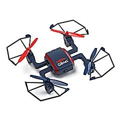 billige Fjernstyrte quadcoptere og multirotorer-RC Drone Gteng T901C 4 Kanal 2.4G Med HD-kamera 720P Fjernstyrt quadkopter Flyvning Med 360 Graders Flipp / Med kamera Fjernstyrt
