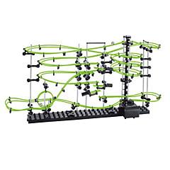 Spacerail 233-3G 13500mm 트랙 레일 자동차 트랙 세트 대리석 트랙 세트 빌딩 키트 코스터 완구 설치자 세트 교육용 장난감 컴팩터 트랙 & 멀티 터레인 로더 장난감 야광 DIY 아동 Teen 조각