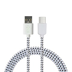 preiswerte -Cwxuan USB 3.1 Typ C Adapterkabel, USB 3.1 Typ C to USB 2.0 Adapterkabel Male - Male 1.8M (6Ft) 480 Mbps