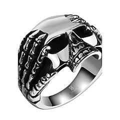 halpa -Miesten Hiphop Statement-korut Rock Ruostumaton teräs Kupari Skull shape Korut Käyttötarkoitus Halloween Katu