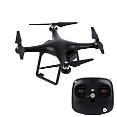 billige Fjernstyrte quadcoptere og multirotorer-RC Drone JJRC Aegean V2 4 Kanal 2.4G Ja Fjernstyrt quadkopter Høyde Holding Sideflyvning Fremover bakover Flyvning Med 360 Graders Flipp
