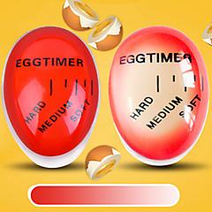 رخيصةأون أدوات & أجهزة المطبخ-1 قطعة تغيير لون تغيير البيض الموقت ل الكمال كوك لينة و الصلبة البيض المسلوق الموقت الإبداعية مطبخ أداة