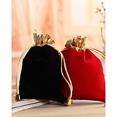 suporte de suporte de tecido não tecido de nylon cubo com bolsas favoritas - 12 favores de casamento