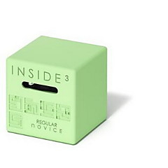 Magické kostky 3D Maze Puzzle Box Hračky Móda Zábavné Uvnitř Dospělé 1 Pieces