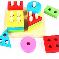 Bausteine Spielzeuge Bildungsspielsachen Spielzeuge Ebene Geometrische Form Schule / Abschluss Schule Neues Design Stücke