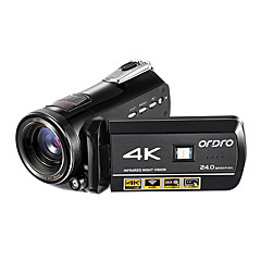 ordro ac1 4k uhd הקלטה camcorder 3 לוח מגע ir לילה חזון wi-fi dv שלט רחוק 128gb כרטיס SD