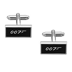 Cufflink Tie Bar Tie Clip  Brass Costume Jewelry Cufflinks Anniversary Ceremony Men's