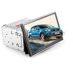 billiga DVD-spelare till bilen-Factory OEM 10.1 tum 2 Din Android 7.1 Inbyggd Bluetooth / Wifi / Kapacitiv pekskärm för Universell Stöd / DVD-R / RW / DVD+R / RW / AVI