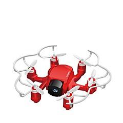 RC Drone FQ777 FQ777-126C 4 Kanal 6 Akse 2.4G Med 2,0 M HD-kamera Fjernstyrt quadkopter LED-belysning En Tast For Retur Hodeløs Modus