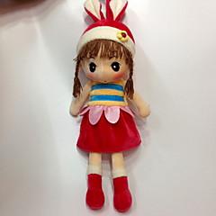 장난감을 채웠다 장난감 카툰 패션 웨딩 어린이를위한 소프트 장식 카툰 디자인 웨딩 패션 여자아이 1 조각
