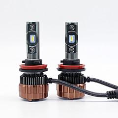 billige Frontlykter til bil-SO.K 2 Bil Elpærer W Integrert LED lm 2 Hodelykt Alle år