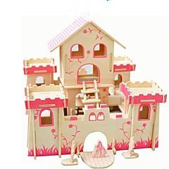 preiswerte -Holzpuzzle Modellbausätze Neuheit Klassisch Klassisch Fokus Spielzeug Eltern-Kind-Interaktion Simulation Hölzern Künstlerisch / Retro