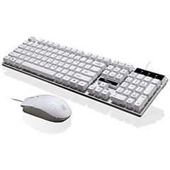 Chase panther q17 langallinen USB-liitäntä toimisto hiiri 3 painike säädettävä dpi Office näppäimistö vedenpitävä