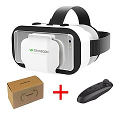 billige -vr shinecon 5.0 glass virtuell virkelighet vr boks 3d briller for 4,7 - 6,0 tommers telefon med kontroller