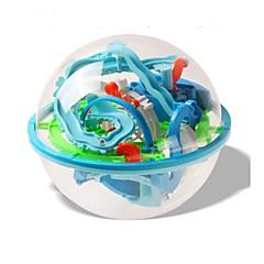 billige Labyrint & Sekvenspuslespil-Labyrintkuglebane Kugle Stress og angst relief Decompression Toys ABS Børne Voksne Gave 1pcs