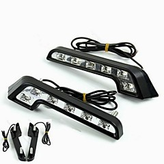 cheap Daytime Running Lights-2pcs Light Bulbs 6W W High Performance LED lm 6 Daytime Running Light ForMercedes-Benz C200 C180 Classic Universal