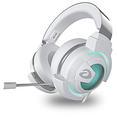 cheap Headsets & Headphones-EH736 Headband Wired Headphones Dynamic Plastic Gaming Earphone with Volume Control with Microphone Headset