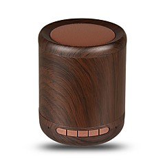 お買い得  スピーカー-Factory OEM K2001 Bluetoothスピーカー 4.0 オーディオ(3.5 mm) ブックシェルフスピーカー イエロー Brown