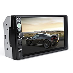 cheap -7010B Universal 7 Inch 2 DIN Car Audio Stereo Player Touch Screen Car Video MP5 Player Support Bluetooth TF SD MMC USB FM Radio