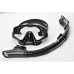 baratos -Máscaras de mergulho Snorkels Kit para Snorkel Anti Neblina Mergulho Caça e Pesca Snorkeling YON SUB