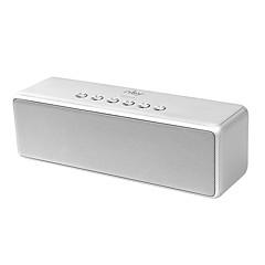 NBY 5510 Bluetooth-højttaler Bluetooth 4.2 Audio (3.5 mm) Højtalere Til Boghylder Sølv Grå