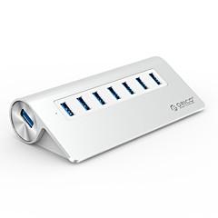 billige USB Hubs & Kontakter-ORICO 7 USB Hub USB 3.0 USB 3.0 Højhastighed Indgangsbeskyttelse Overbelastningsbeskyttelse Data Hub