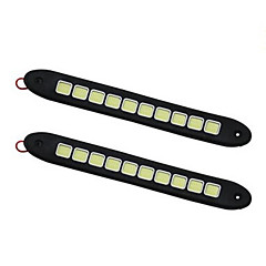 cheap Daytime Running Lights-2 Car Light Bulbs 10W W COB lm 1 Daytime Running Light Foruniversal All years