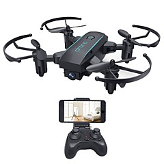 billige Fjernstyrte quadcoptere og multirotorer-RC Drone HY1601 4 Kanal 6 Akse 2.4G Med 720 P HD-kamera Fjernstyrt quadkopter Høyde Holding WIFI FPV En Tast For Retur Hodeløs Modus