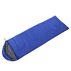 baratos -Saco de dormir Retangular Penas de Pato 10°C Bem Ventilado Prova-de-Água Portátil A Prova de Vento Á Prova-de-Chuva Dobrável Selado 230X