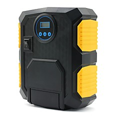billiga Bildelar-bärbar luftkompressor pumpdc12v 150psi digital däckuppblåsare med ledbelysning - automatisk avstängning