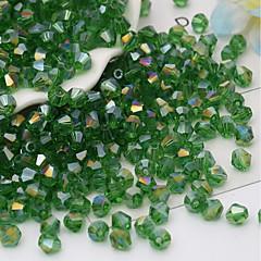 baratos Miçangas & Fabricação de Bijuterias-Jóias DIY 115 pçs Contas Vidro Arco-íris Vermelho Verde Azul Claro Azul Real Irregular Bead 0.4 cm faça você mesmo Colar Pulseiras