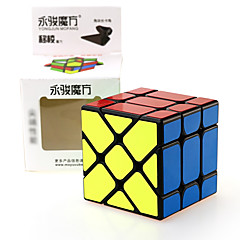 tanie Kostki Rubika-Kostka Rubika YONG JUN Alien Fisher Cube 3*3*3 Gładka Prędkość Cube Magiczne kostki Puzzle Cube profesjonalnym poziomie Prędkość Kwadrat