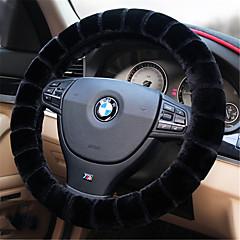 billige Rattovertrekk til bilen-Rattovertrekk til bilen Plysj 38 cm Rød / Beige / Grå Til Volkswagen Bora / Tiguan / Jetta Alle år