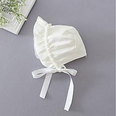 billige Tilbehør-Pige Hatte & Hætter Alle årstider - Polyester Hvid
