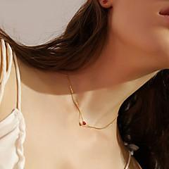 billige Fine smykker-Dame Hjerte Halskædevedhæng  -  Simple Sød Guld Halskæder Til Daglig I-byen-tøj