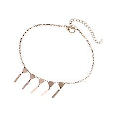 baratos Bijoux de Corps-Franjas / Retro Colares com Pendentes - Clássico, Fashion Dourado Para Presente / Feriado / Mulheres