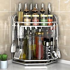 Χαμηλού Κόστους Οργάνωση κουζίνας-Ανοξείδωτο Ατσάλι Εύκολο στη χρήση Δημιουργική Κουζίνα Gadget Έπιπλα μαγειρικής 1pc Οργάνωση κουζίνας