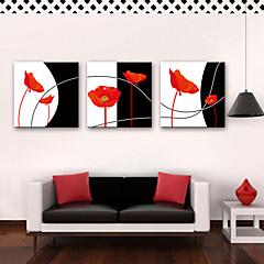 cheap Wall Art-Print Rolled Canvas Prints Rustic Modern Three Panels