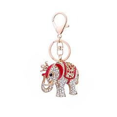 tanie Łańcuszki do kluczy-Łańcuszek do kluczy Biżuteria Czerwony Różowy Zwierzę Stop Klasyczny Na co dzień Prezent Codzienny Męskie Damskie