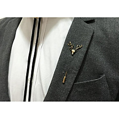 cheap Brooches-Men's Brooches - Animal Vintage Brooch Gold / Silver For Party / Ceremony